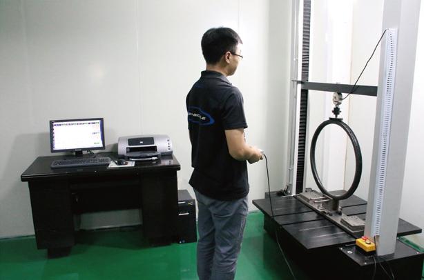 carbon Rim stiffness test