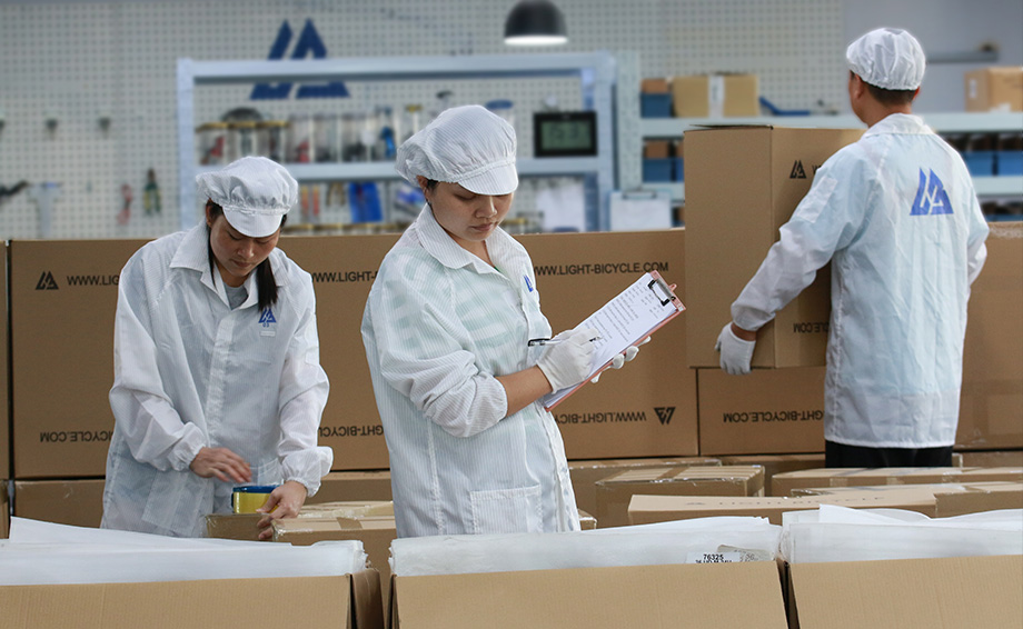 careful packing and shipment arrange
