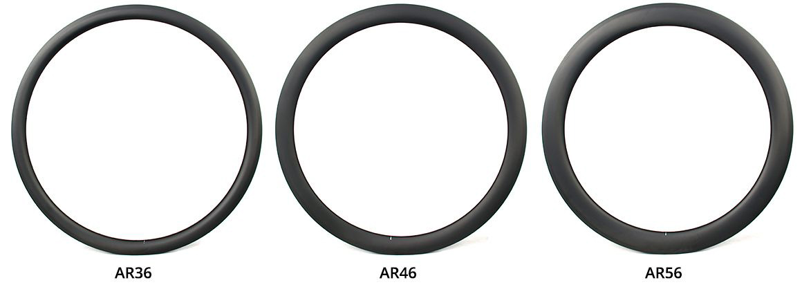 AR36-36mm-deep-28mm-wide-carbon-rim-AR46-46mm-deep-28mm-wide-700c-road-rim-AR56-56mm-deep-aero-30mm-wide-carbon-rim.jpg
