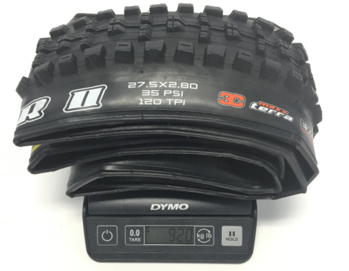 Minion-DHR-II-Plus-27.5-2.8-tire-weight