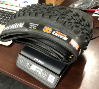 maxxis-Rekon-29-2.6-owt-tire-actual-weight