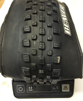 maxxis-beaver-29-2.25-mtb-tire-weight