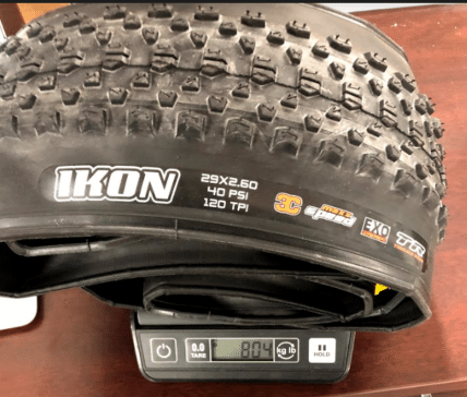 maxxis-ikon-29-2.6-owt-3c-maxx-terra-tire-actual-weight