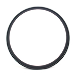 85mm wide carbon 26er fat bike rim hookless double wall tubeless compatible
