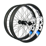 85mm wide 26er carbon fat bike wheels 26 inch carbon wheelset double wall tubeless compatible