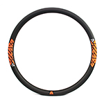 New 26er 33mm wide enduro MTB all mountain downhill carbon rim tubeless compatible
