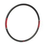 bead hook-less rims carbon 29er light bike rim tubeless compatible