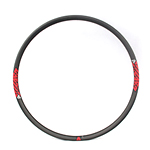 tubular mtb rim carbon mountain 29er XC super lightweight 27mm wide