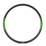 Hookless carbon 650B mtb 35mm wide  AM 27.5 rims tubeless compatible