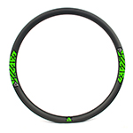 carbon 650b rims 38mm wide hookless mountain bike rims tubeless compatible