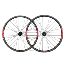 Hand-built AM928 asymmetric rim profile carbon fiber mtb 29er wheels
