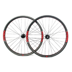 Hand-built carbon AM933 asymmetric 29er mtb Enduro wheels tubeless compatible