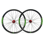 650B Hand-built Endro Downhill MTB wheelset 38mm wide 27.5 inch wheels tubeless ready