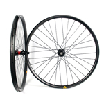Hand-built AM727 asymmetric rim profile carbon fiber mtb 650B wheels