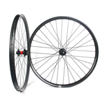 Hand-built AM735 asymmetric rim profile carbon fiber mtb 650B wheels