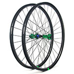 Hand-built EN732 asymmetric rim profile carbon fiber mtb 650B wheels