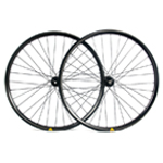 Hand-built XC725 asymmetric rim profile carbon fiber mtb 650B wheels