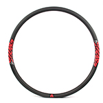 29er disc bike rims 29mm wide 28mm deep clincher for cyclocross and gravel bikes