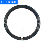Road bicycle disc rims 30mm wide 56mm deep aero clincher