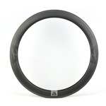 Super light 55mm deep 25mm wide tubular rims 700C high TG resin surface