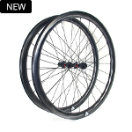 700C tubeless bicycle wheels 28mm wide 37.5mm deep clincher for cyclocross road and gravel bikes