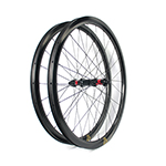 700C tubeless bike wheels 28mm wide 45mm deep clincher for cyclocross road and gravel bikes