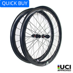 700C tubeless bicycle wheels 28mm wide 46.5mm deep clincher for cyclocross road and gravel bikes