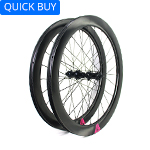 700C tubeless bike wheels 28mm wide 55mm deep clincher for cyclocross road and gravel bikes
