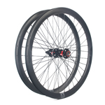 Disc 650B gravel wheels 29mm wide 36mm deep tubeless for cyclocross and gravel bikes