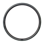 700C 32mm wide 35mm deep carbon road disc rim clincher New Gen Aero Shape tubeless compatible