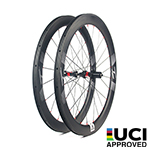 New Gen Aero Shape 45mm depth  Hand-built 700C carbon 25mm wide clincher road disc bicycle wheels with tubeless compatible