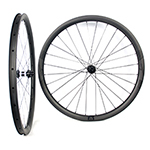 700C tubeless bicycle wheels 32mm wide 35mm deep clincher for cyclocross road and gravel bikes