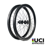 700C tubeless bike wheels 32mm wide 50mm deep clincher for cyclocross road and gravel bike