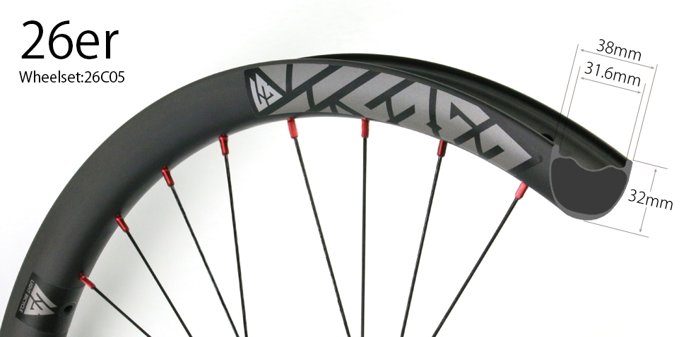 Enduro mtb wheels