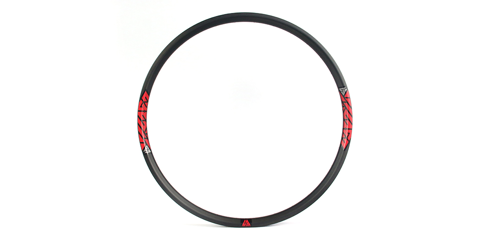 35mm wide 29er rims beadless for bicycle trail or mountain bike