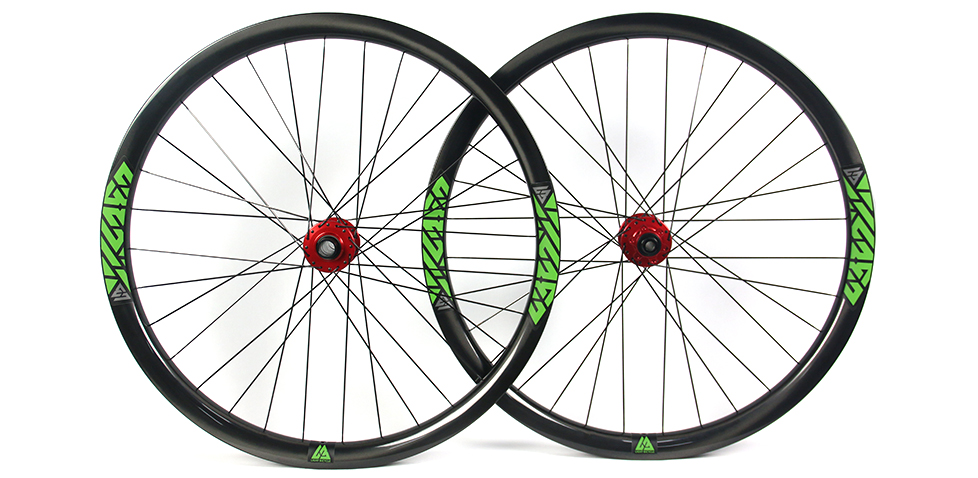 650B mtb wheelset