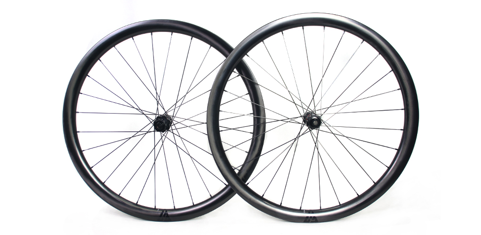 perfect finish 32mm wide 35mm deep bicycle carbon wheels