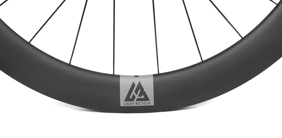 super light deep carbon road wheels