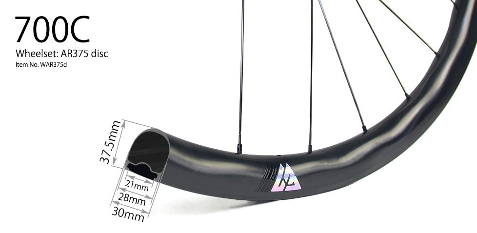 AR375 disc wheels