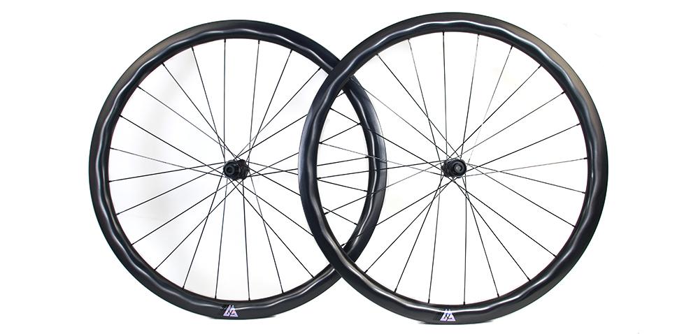 X-flow profile bicycle wheel