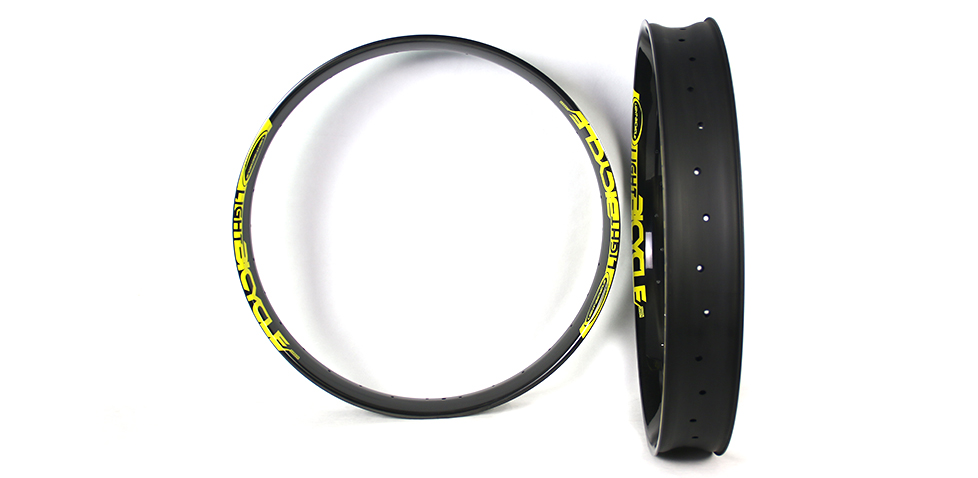 wide fat bike rims