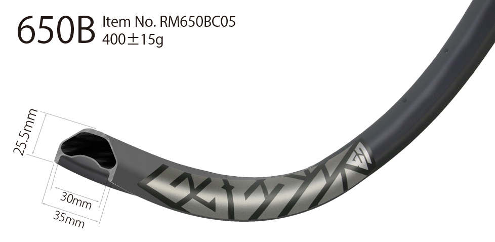 carbon 650b rims