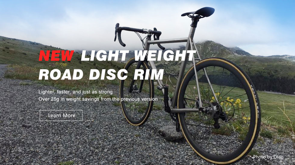 new light carbon disc setups