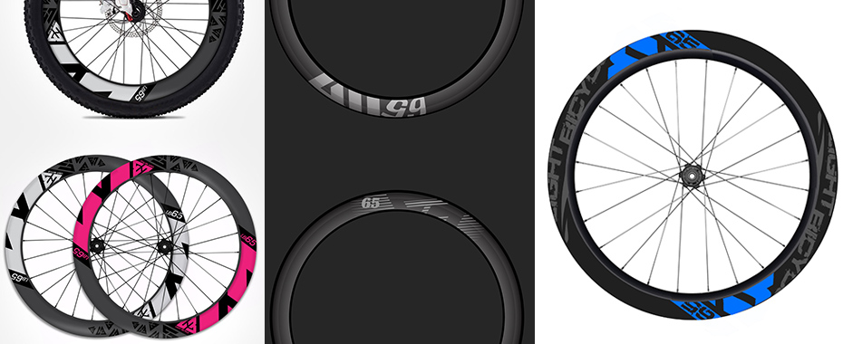 Vote for New light-bicycle road racing rims graphic design