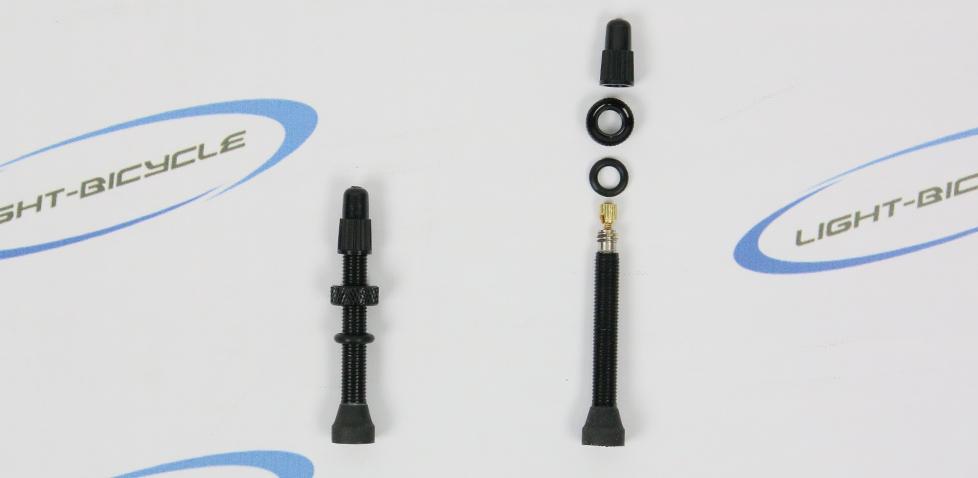 asymmetrical rim valve
