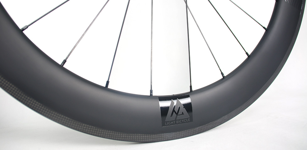 light bicycle carbon road rim 65mm deep