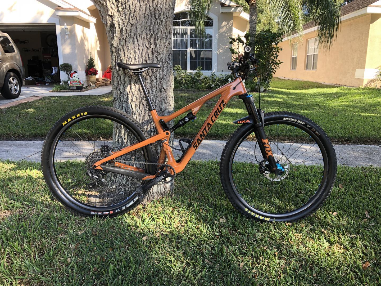 light-bicycle-carbon-fiber-wheelset-with-industry-nine-hydra-hubs-on-santa-cruz-suspension-orange-mountain-bike