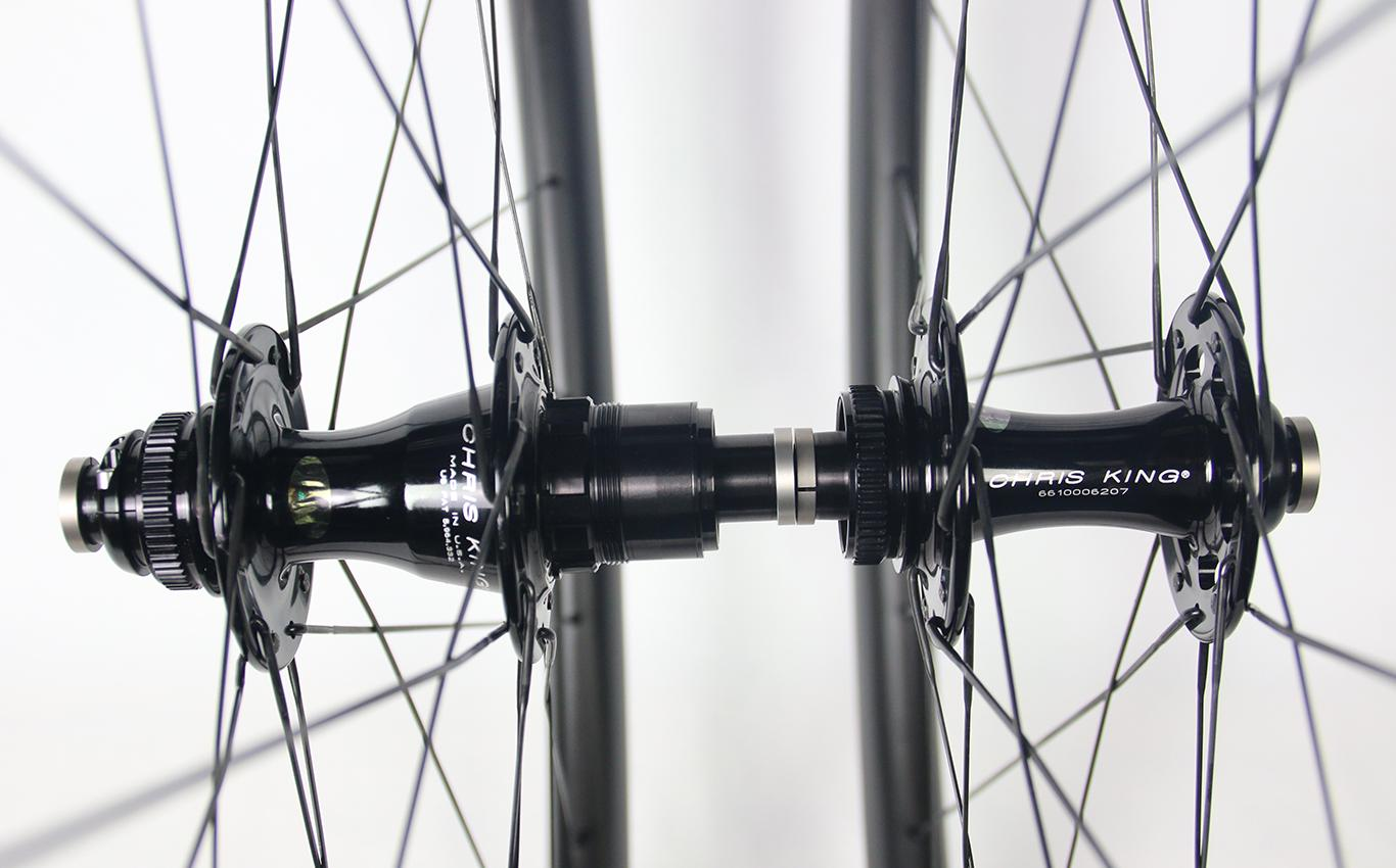 road-disc-Chris-King-R45D-J-bend-CL-hubs-12-100mm-12-142mm