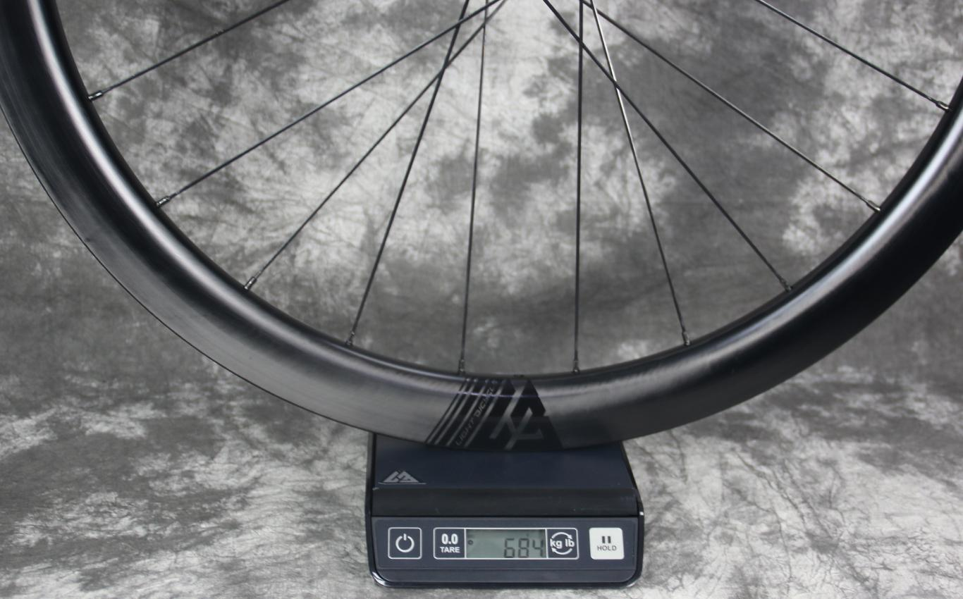 actual-weight-of-ar45-front-wheel-with-carbon-ti-x-hub