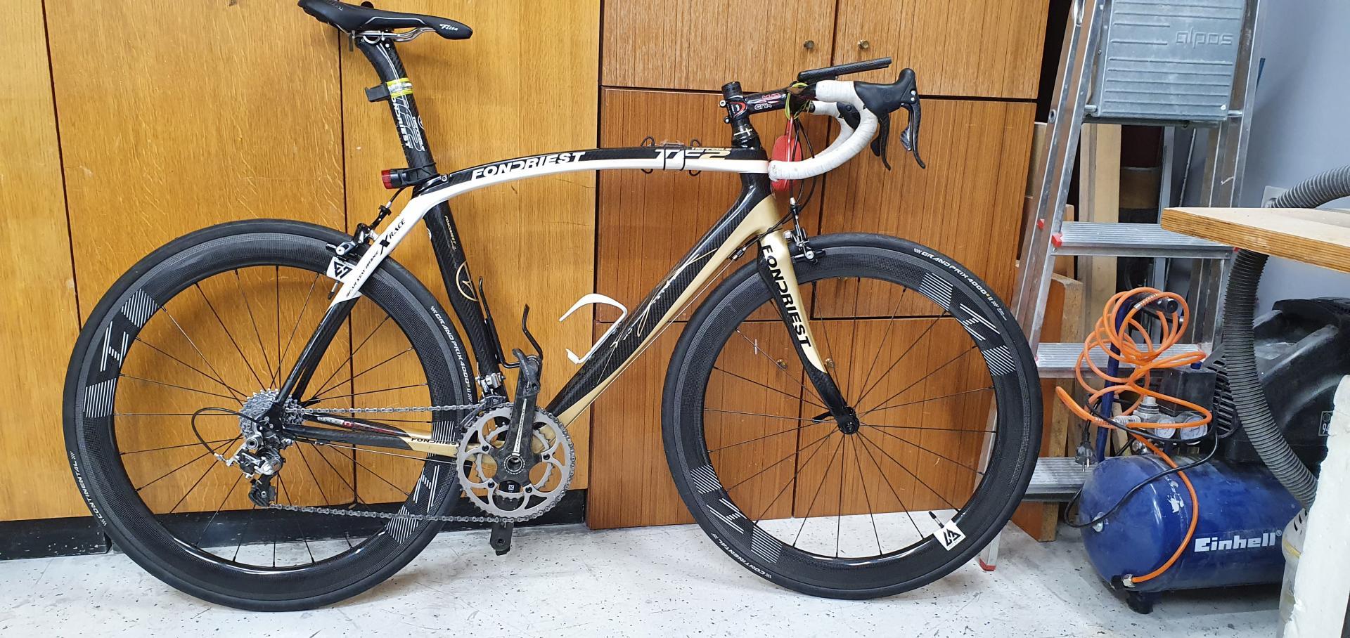 fondriest-tf2-v-brake-frameset-with-light-bicycle-r55-carbon-fiber-wheelset-and-continental-gp4k-ii-tubeless-tires